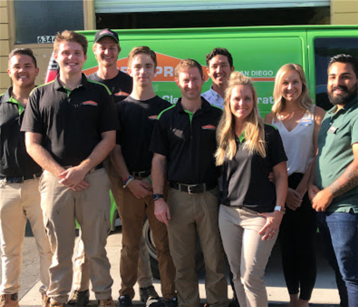 SERVPRO of San Diego East team